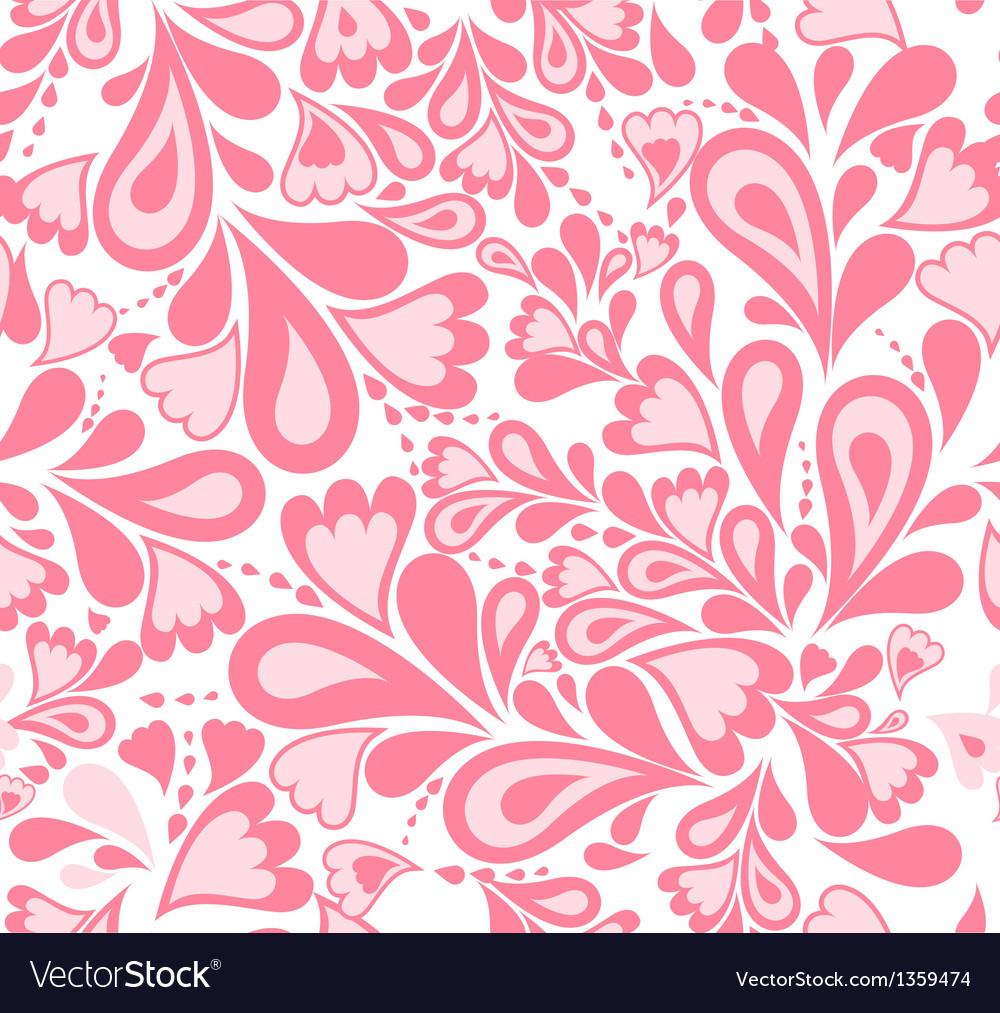 Seamless background pink splash pattern vector | Price: 1 Credit (USD $1)