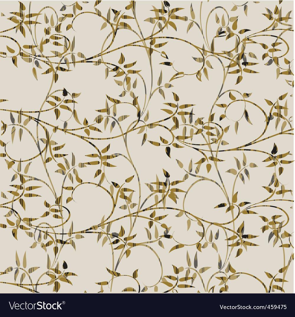 Floral decorative pattern vector | Price: 1 Credit (USD $1)