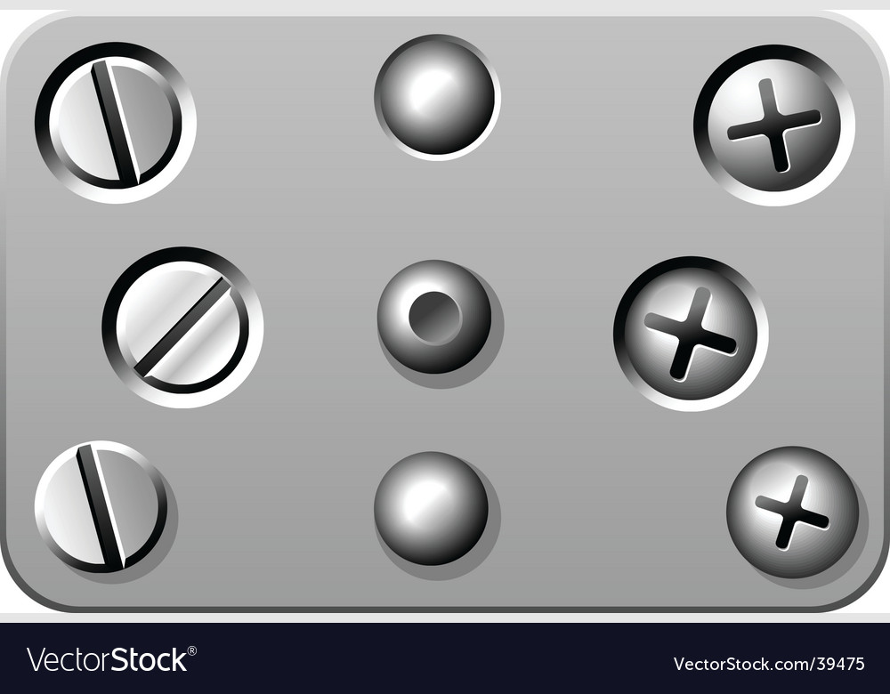Screws vector | Price: 1 Credit (USD $1)