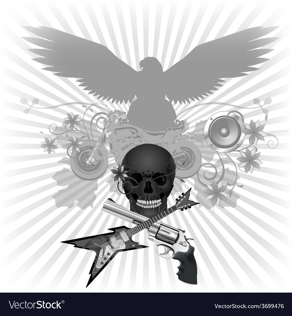 Rock n roll vector | Price: 1 Credit (USD $1)