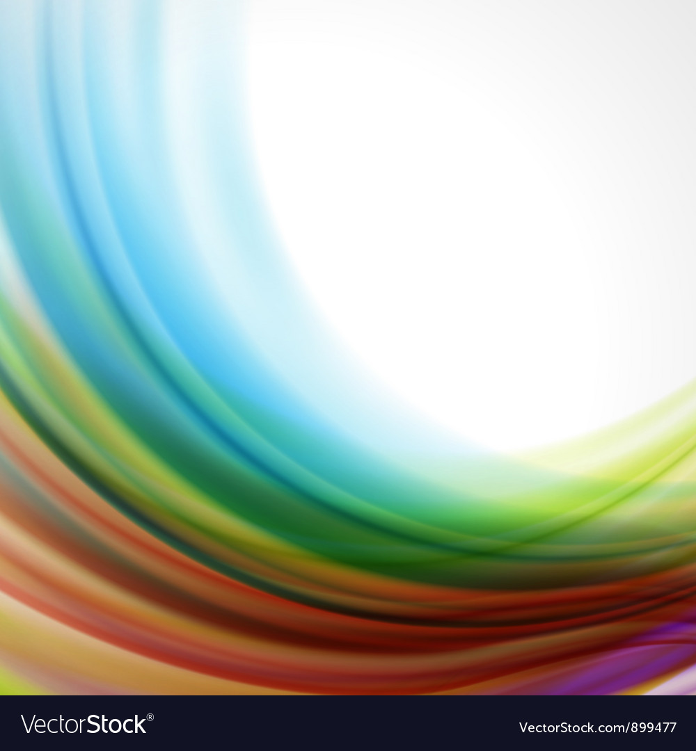 Abstract colorful smooth background vector | Price: 1 Credit (USD $1)