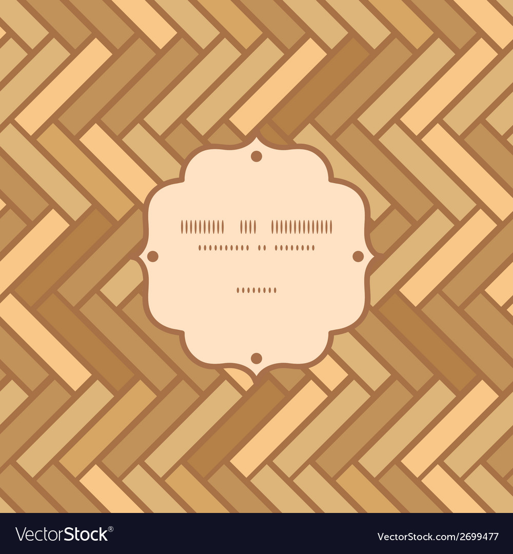 Abstract wooden floor panels frame seamless vector | Price: 1 Credit (USD $1)