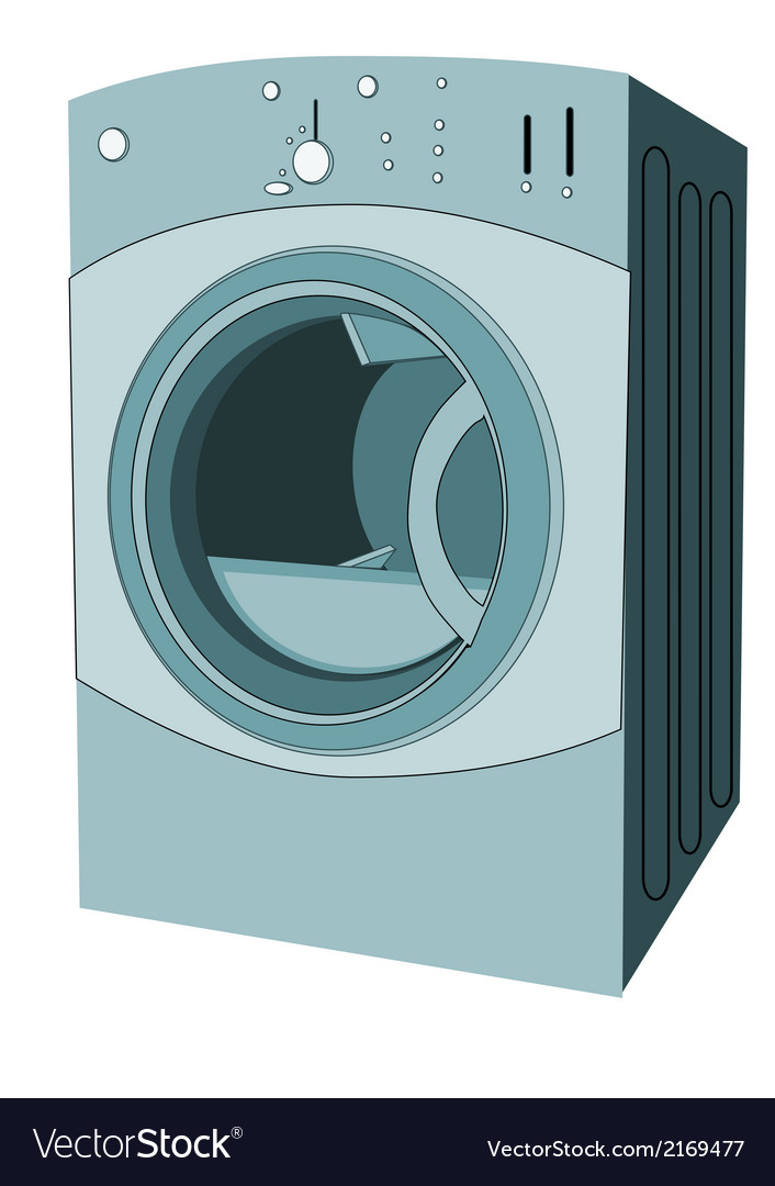 Clothes dryer vector | Price: 1 Credit (USD $1)