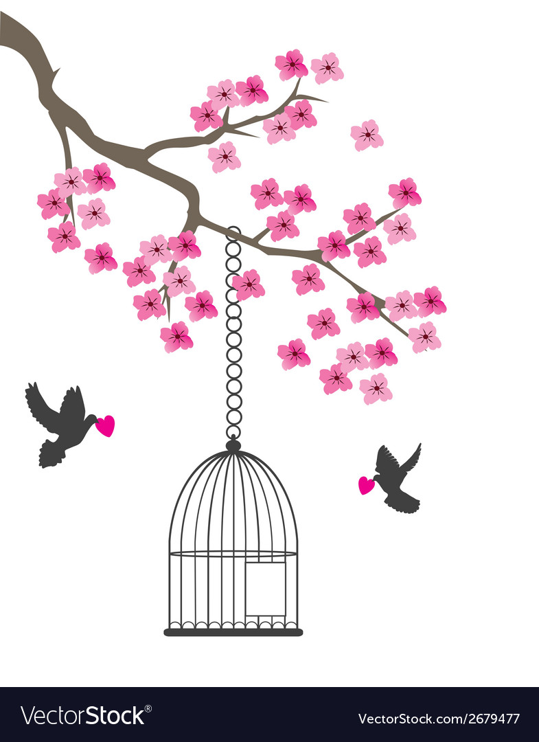 Dove and cage vector | Price: 1 Credit (USD $1)