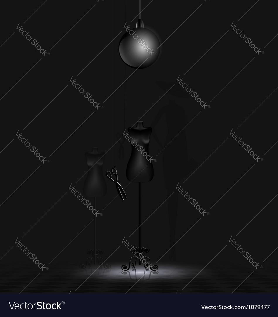 Shadow of fashion vector | Price: 1 Credit (USD $1)