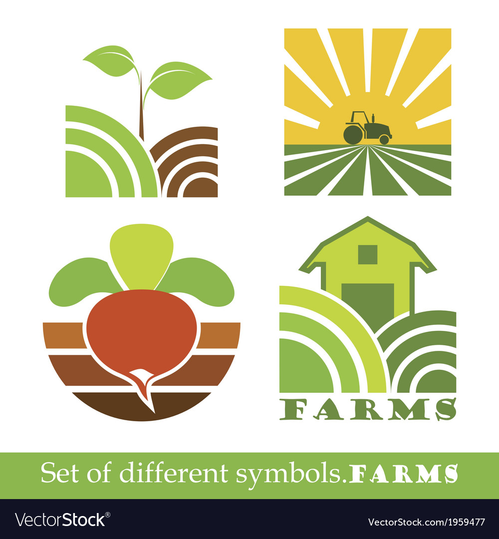 Symbols farm vector | Price: 1 Credit (USD $1)
