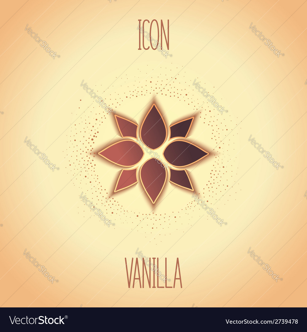 Design icon vanilla vector | Price: 1 Credit (USD $1)