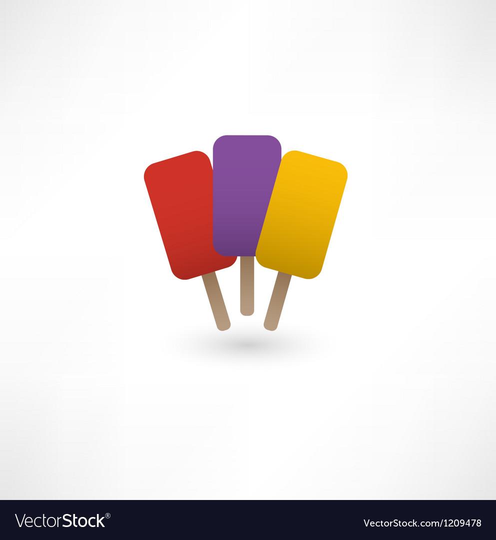 Ice cream icon vector   Price: 1 Credit (USD $1)