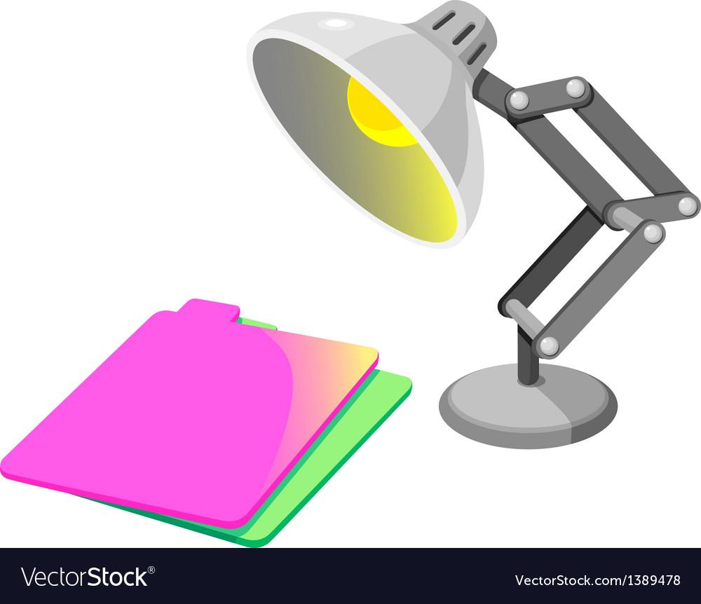 Icon desk lamp vector   Price: 1 Credit (USD $1)