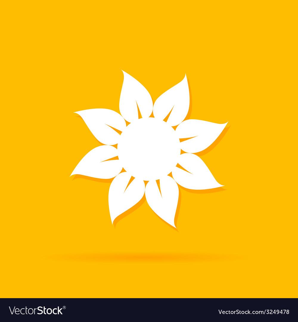 Sun color vector | Price: 1 Credit (USD $1)