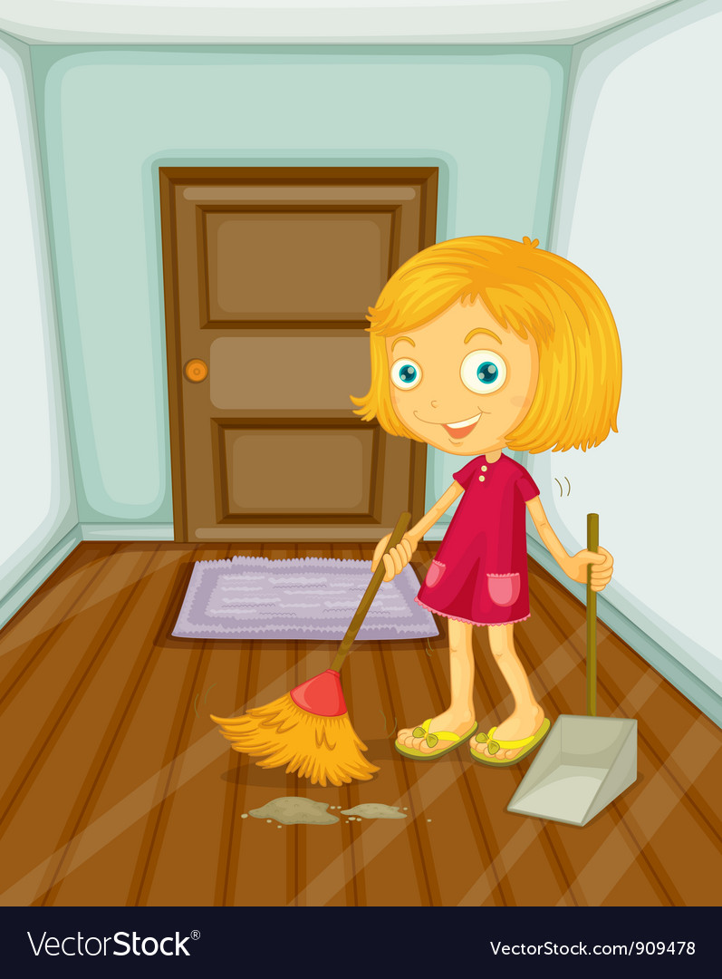 Sweeping vector | Price: 3 Credit (USD $3)