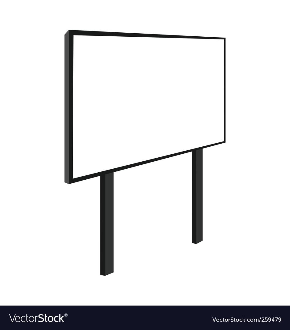 Empty billboard vector   Price: 1 Credit (USD $1)