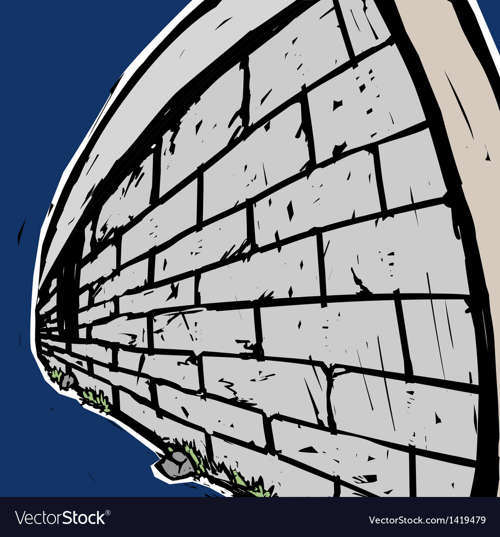 Grunge stone wall vector   Price: 1 Credit (USD $1)