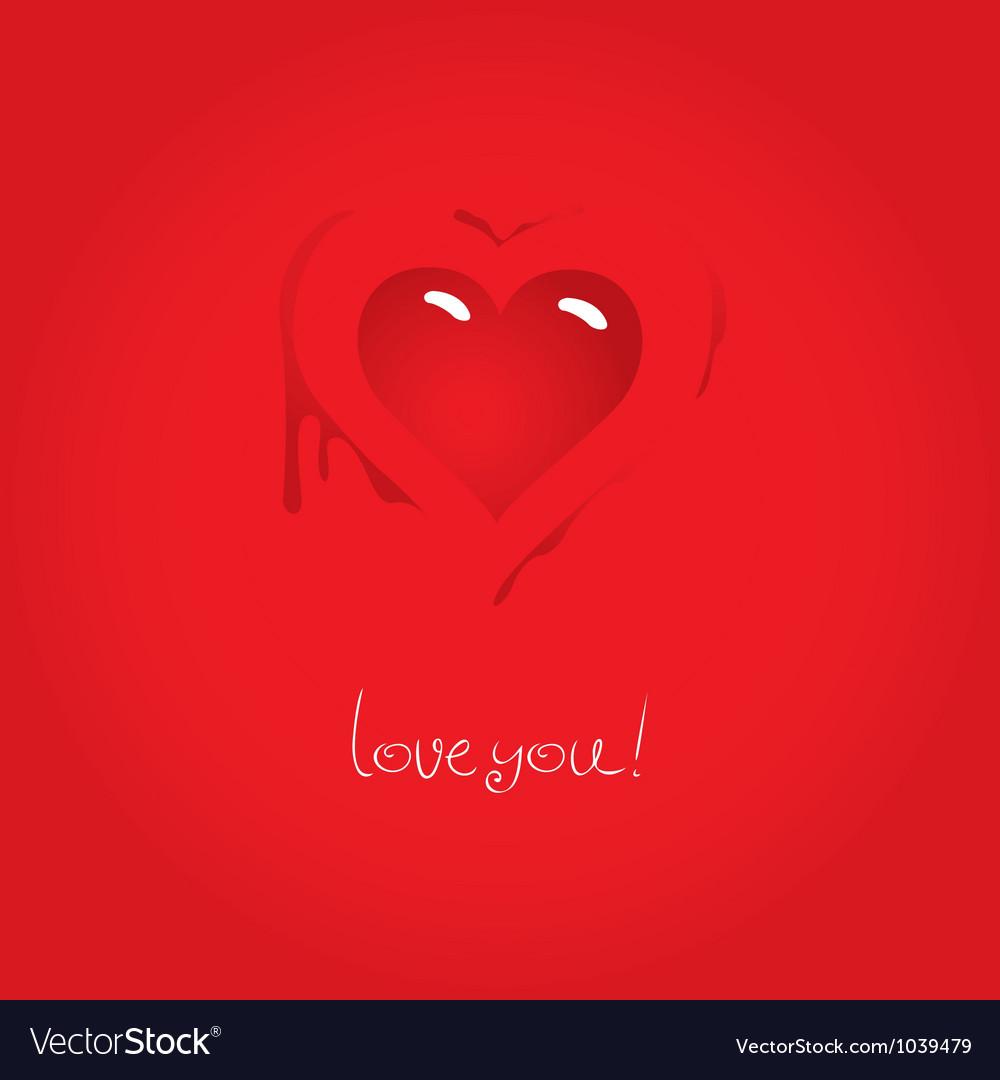 Heart love vector   Price: 1 Credit (USD $1)