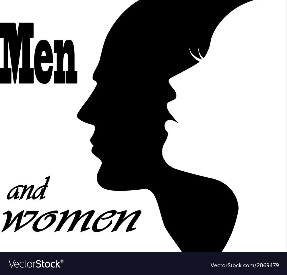 Men and women vector | Price: 1 Credit (USD $1)