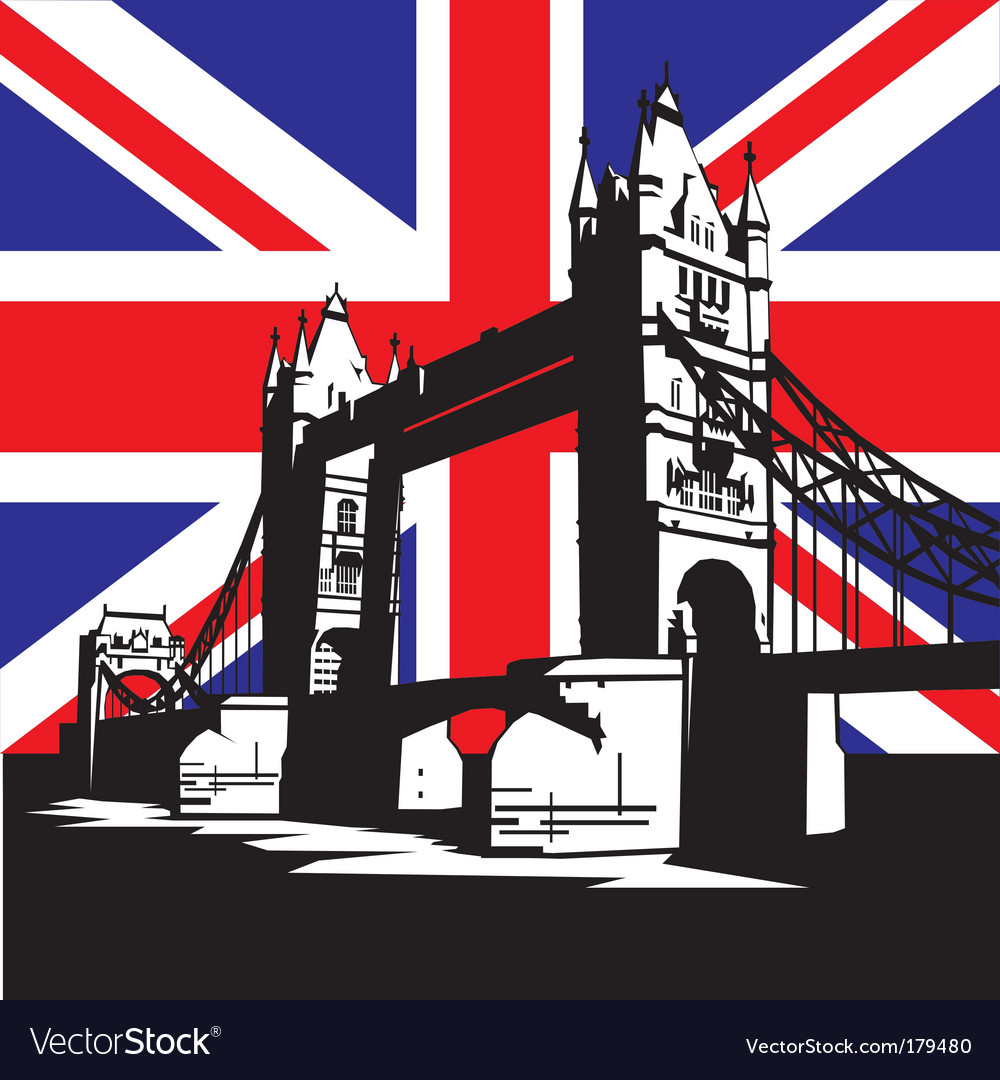 London bridge vector | Price: 1 Credit (USD $1)