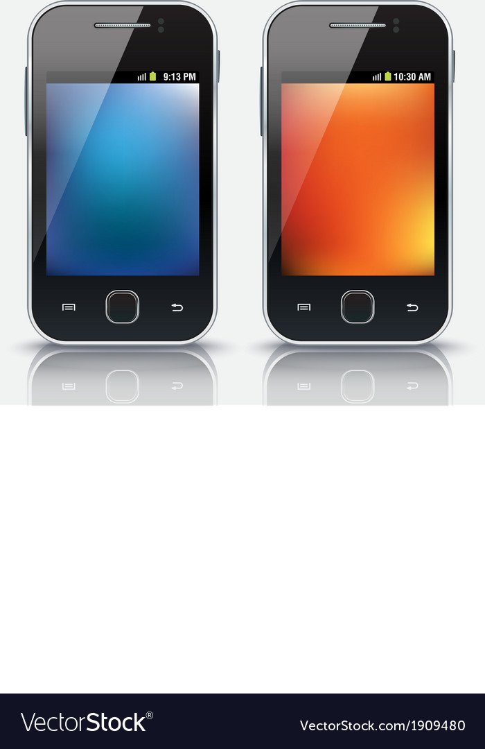 Mobile phones eps 10 vector   Price: 1 Credit (USD $1)
