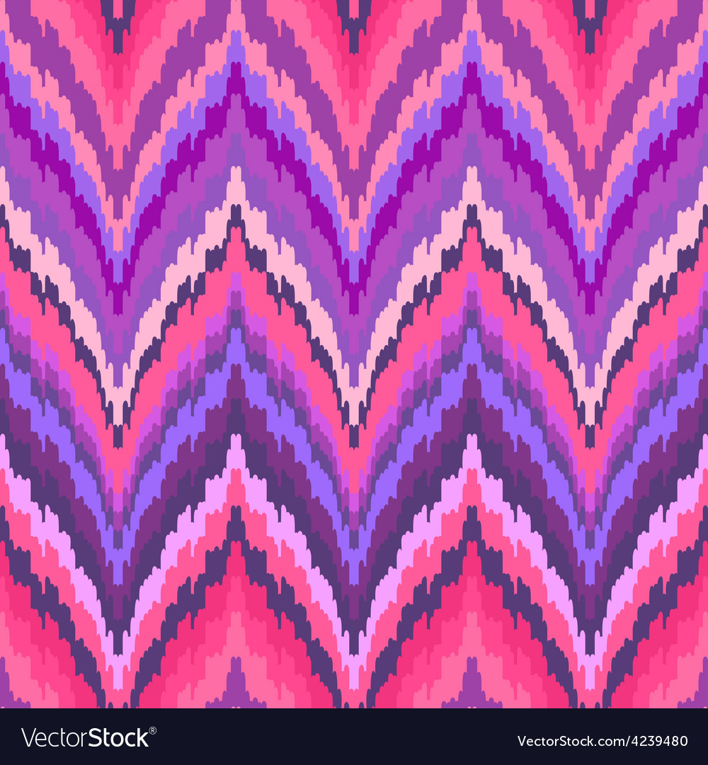 Seamless ikat wallpaper vector   Price: 1 Credit (USD $1)