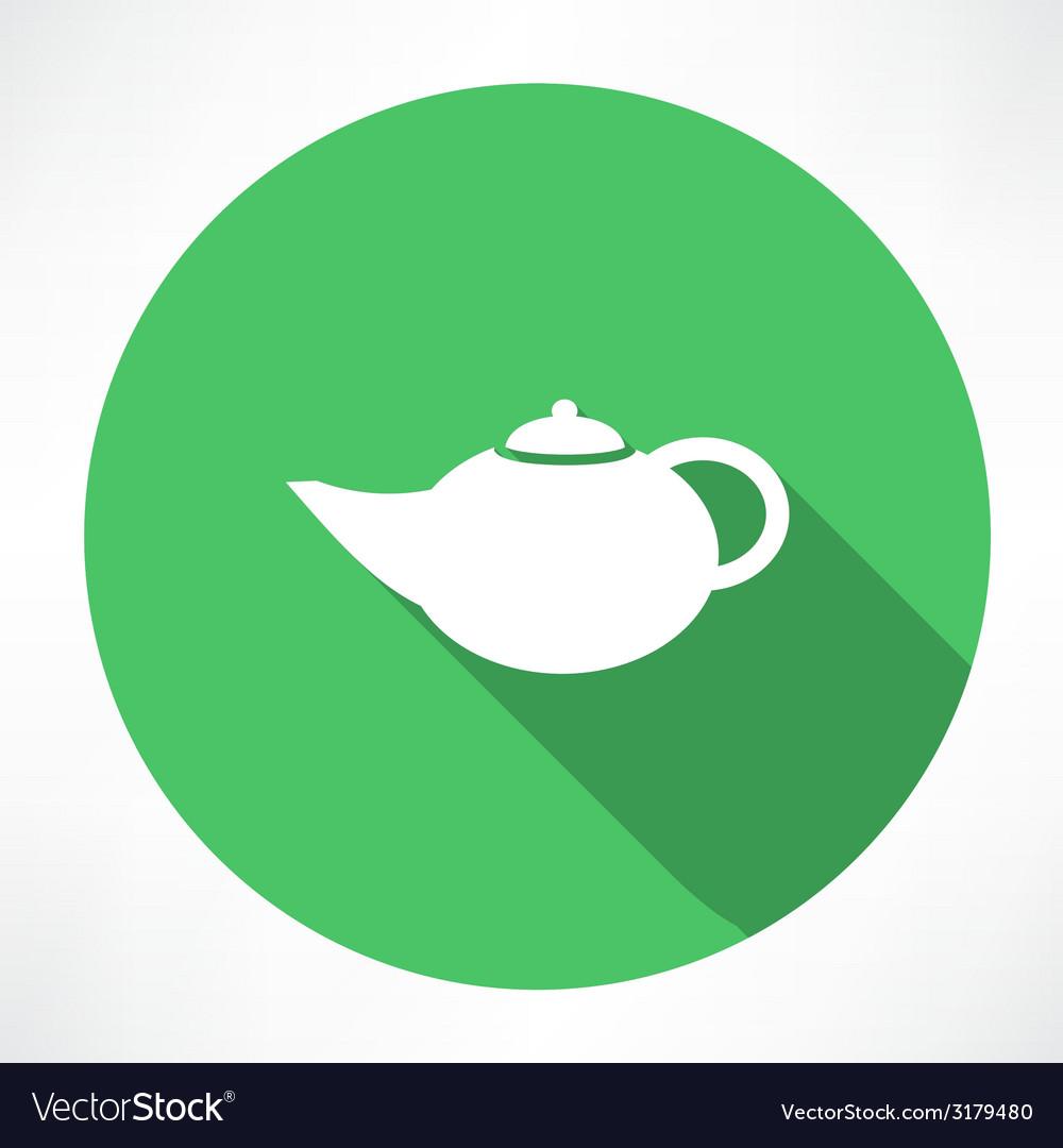 Teapot icon vector | Price: 1 Credit (USD $1)