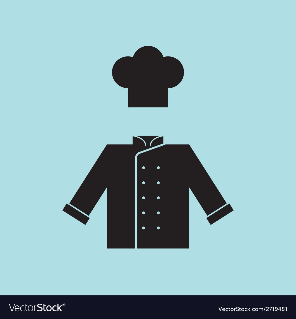Chef hat and shirt vector | Price: 1 Credit (USD $1)