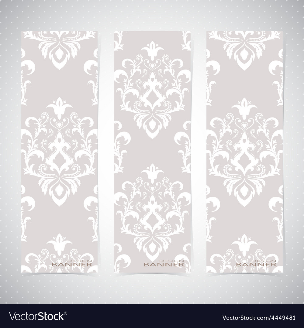 Collection vertical banners in the style of vector | Price: 1 Credit (USD $1)