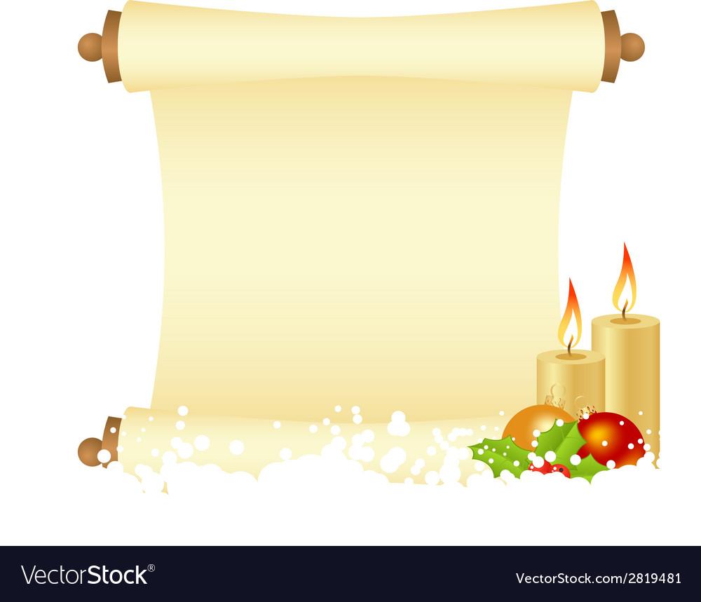 Manuscript christmas 2908 02 vector | Price: 1 Credit (USD $1)