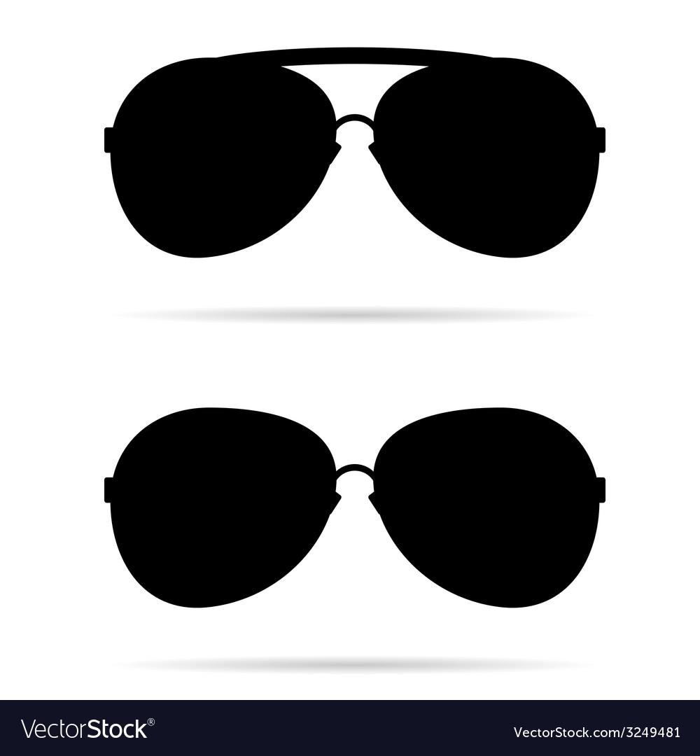 Sunglasses black vector | Price: 1 Credit (USD $1)