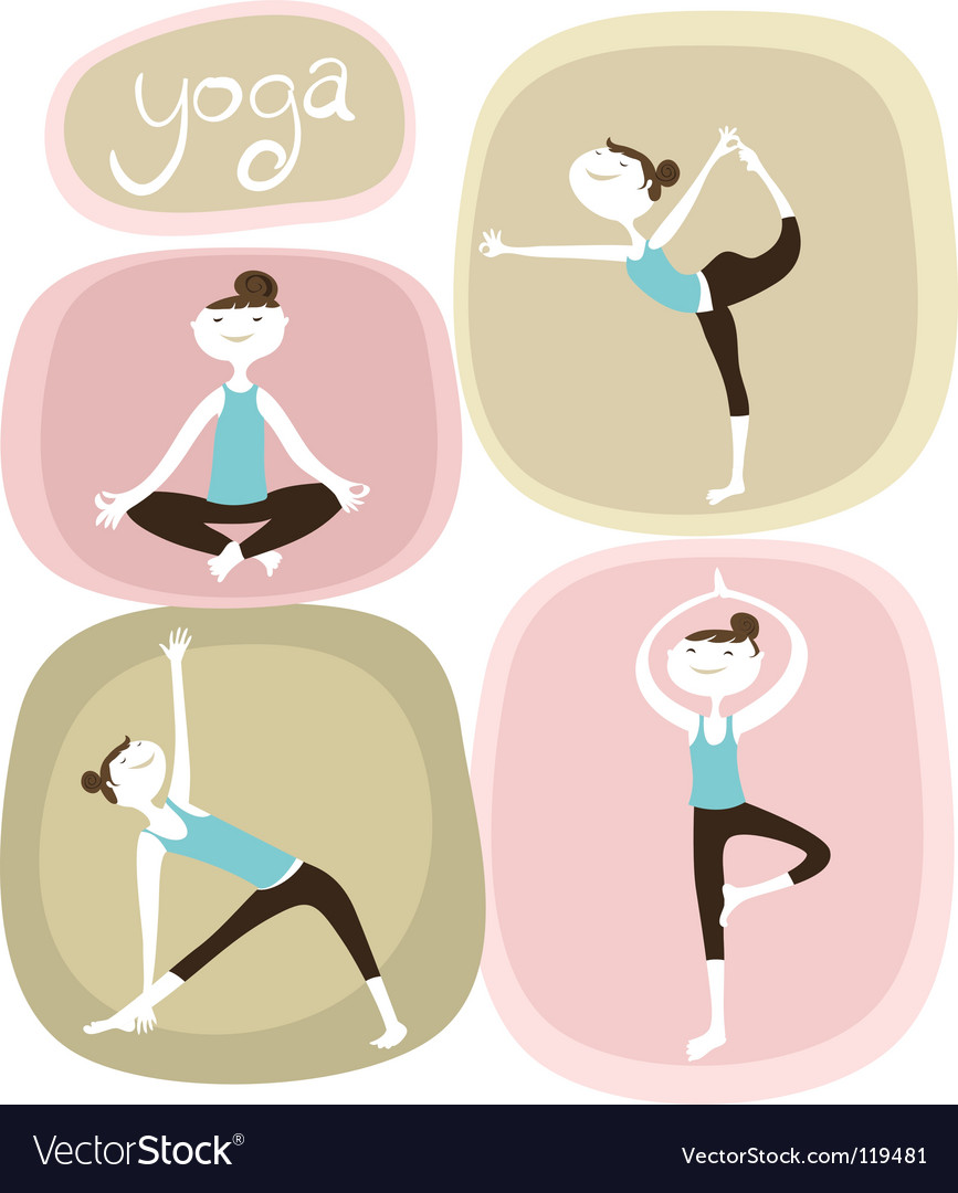 Zen and yoga icons vector | Price: 1 Credit (USD $1)