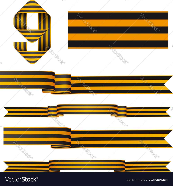9may ribbons vector | Price: 1 Credit (USD $1)