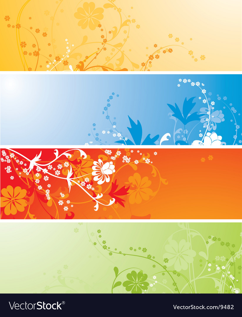 Floral background vector | Price: 3 Credit (USD $3)