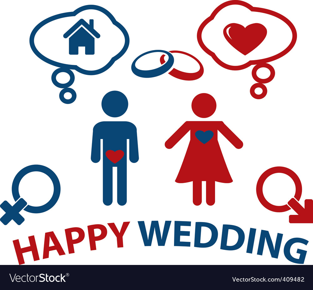 Wedding concept vector | Price: 1 Credit (USD $1)