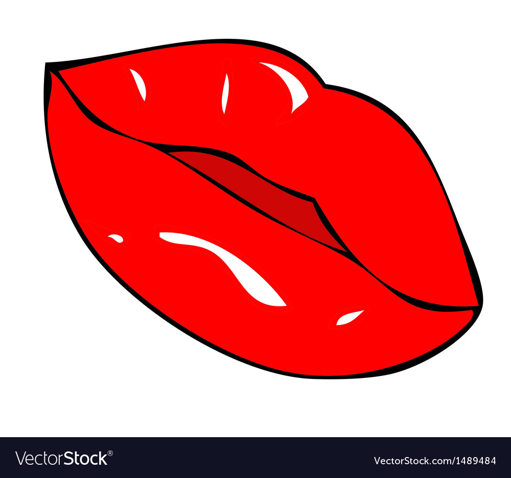 Full lips and sensual vector | Price: 1 Credit (USD $1)