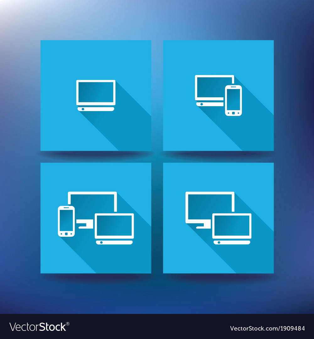 Internet service provider icons eps 10 vector | Price: 1 Credit (USD $1)