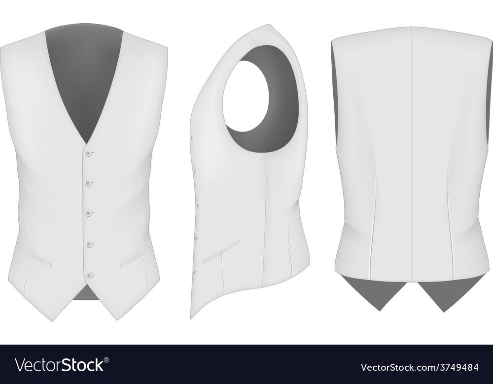Men waistcoat for business men vector | Price: 3 Credit (USD $3)