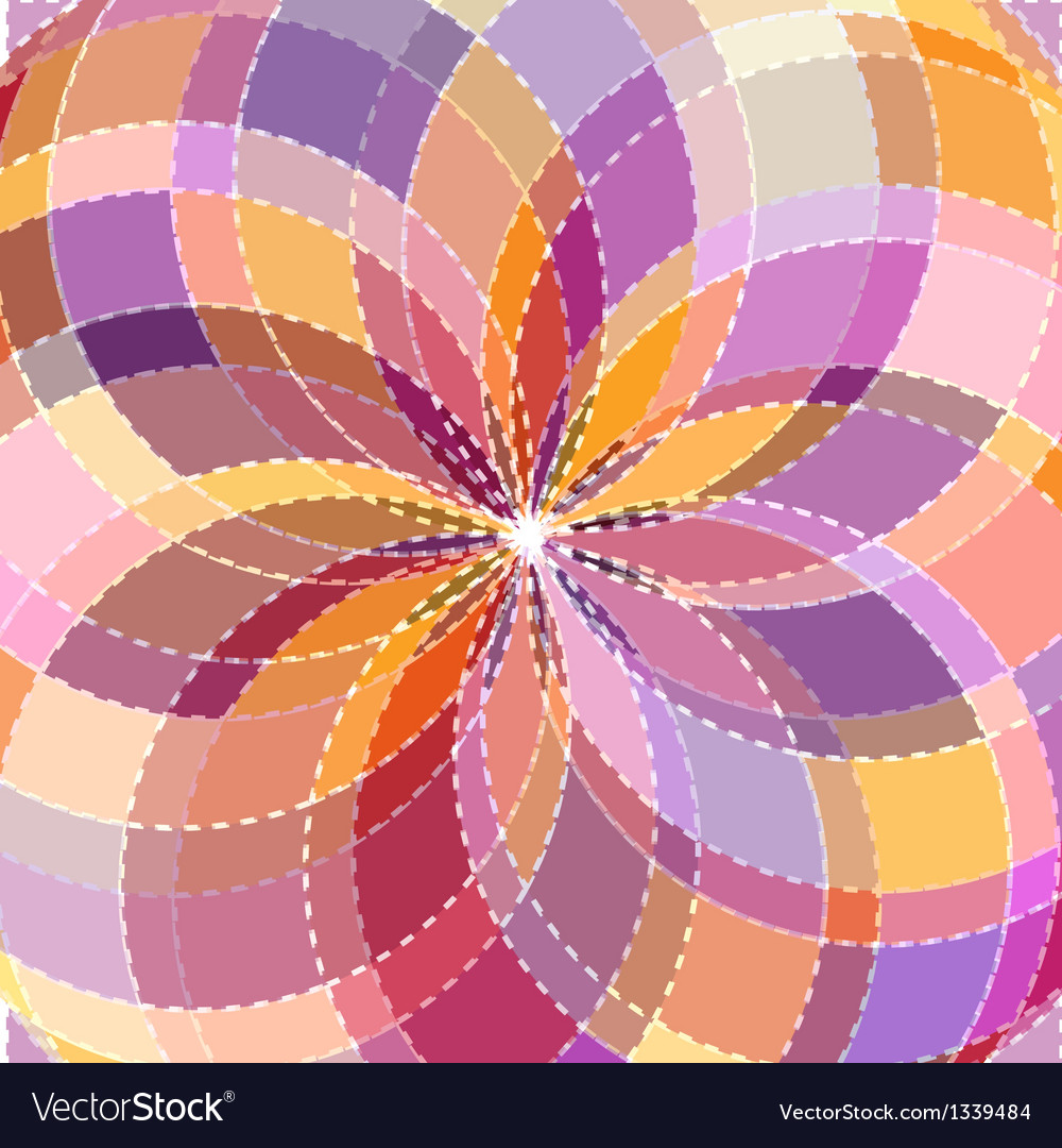 Mosaic spectrum color wheel vector | Price: 1 Credit (USD $1)