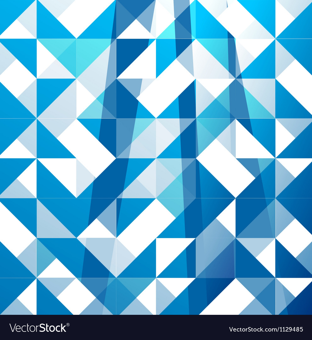 Blue modern geometric design template abstract vector | Price: 1 Credit (USD $1)