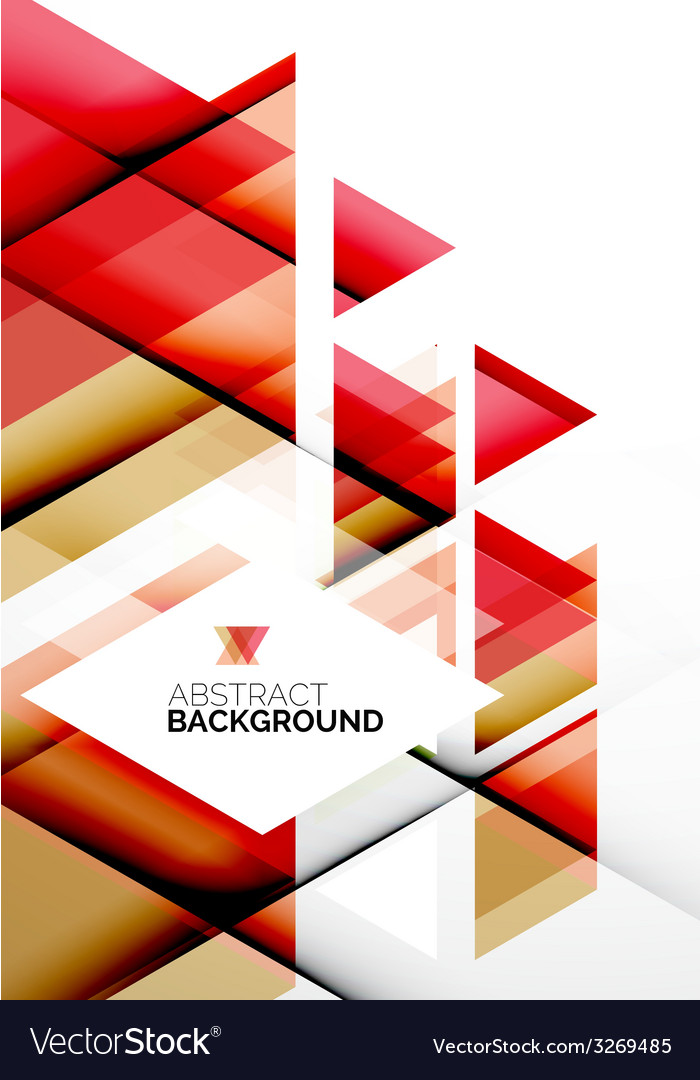 Business abstract geometric template vector | Price: 1 Credit (USD $1)