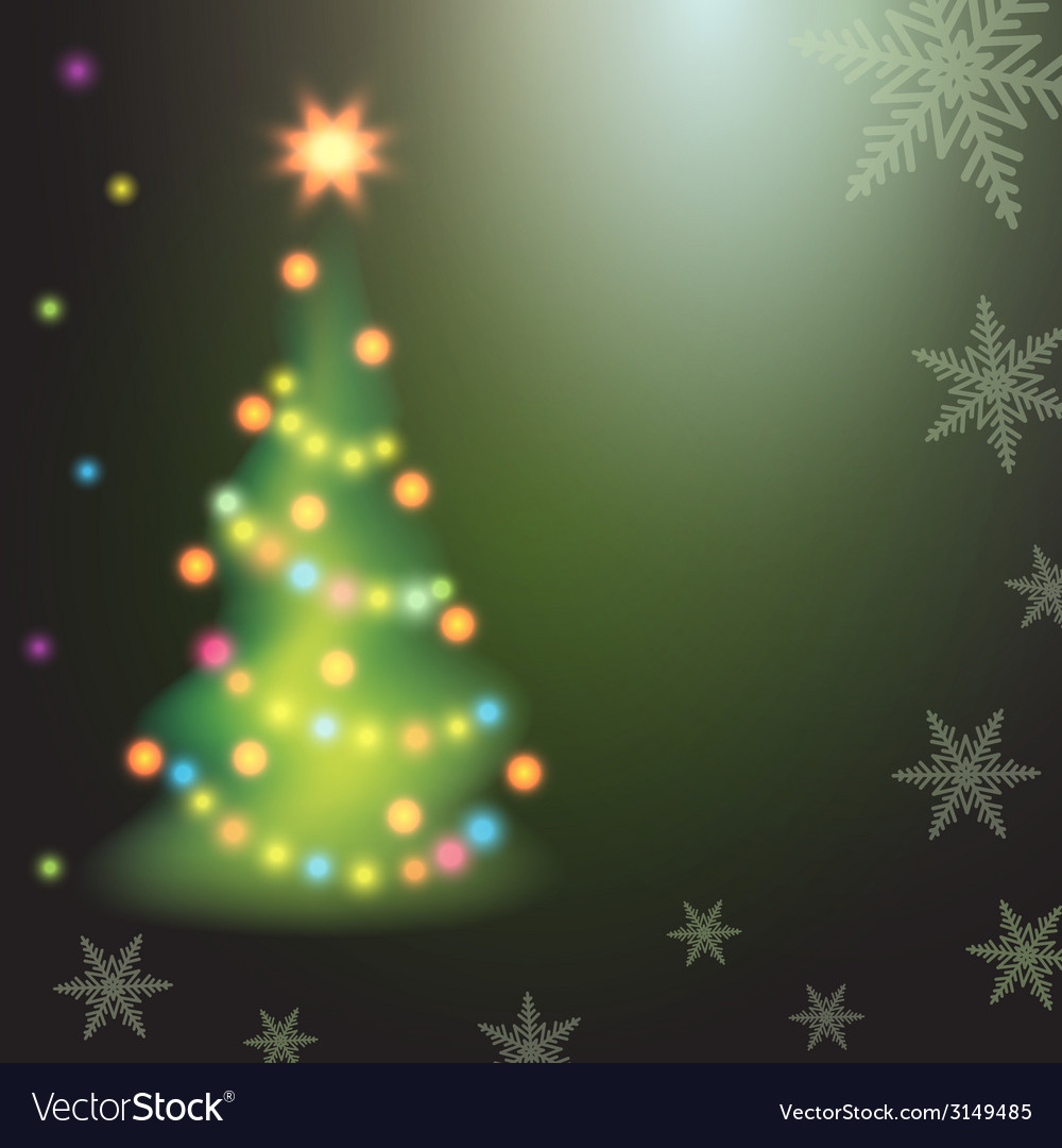 Home christmas fir tree on colorful background vector   Price: 1 Credit (USD $1)