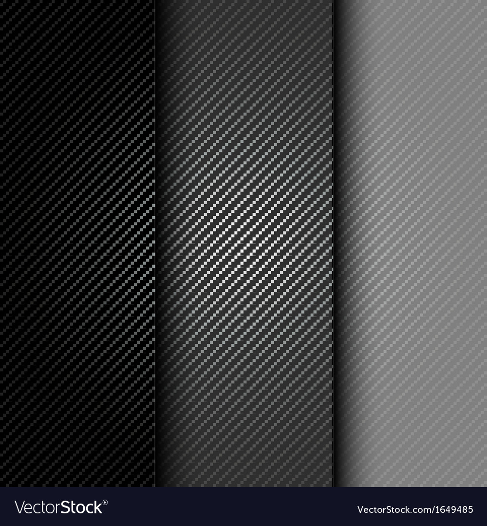 Metallic background with carbon texture vector | Price: 1 Credit (USD $1)