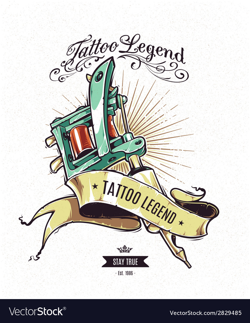 Tattoo legend 2 vector | Price: 1 Credit (USD $1)