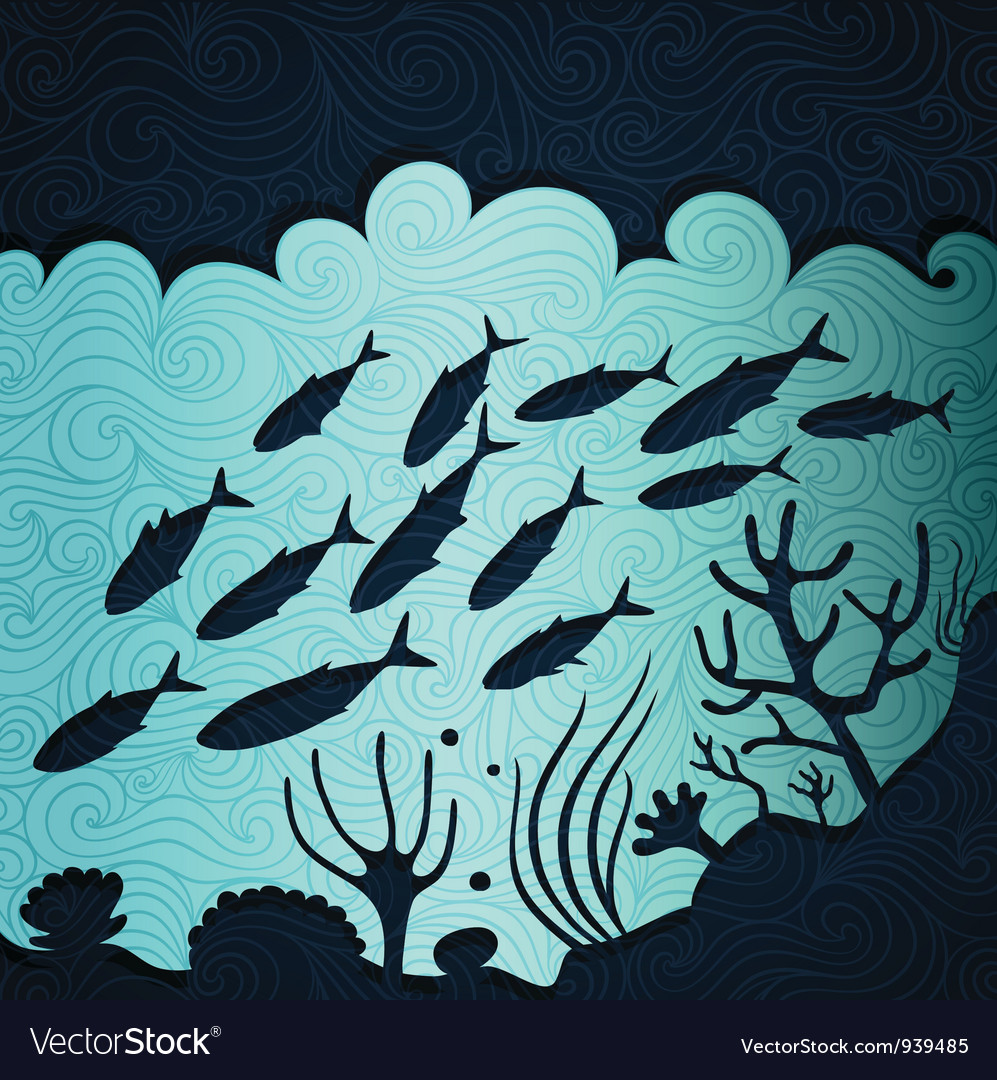 Under the sea vector | Price: 1 Credit (USD $1)