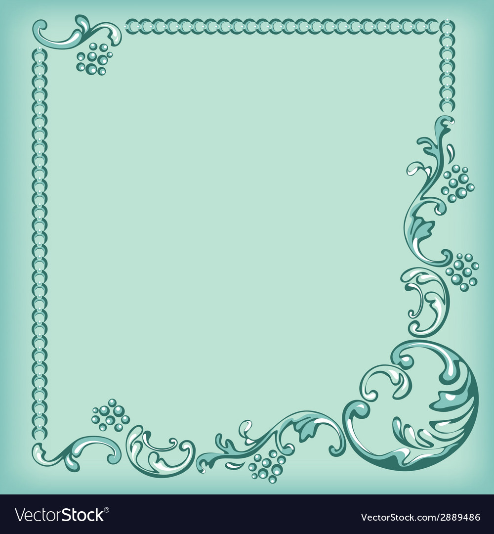 Frame ornament background vector | Price: 1 Credit (USD $1)
