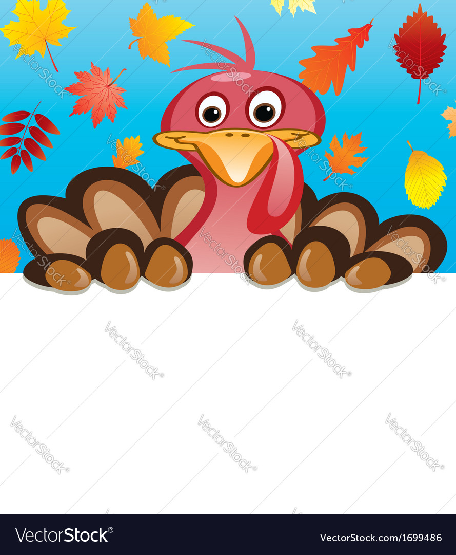 Turkey for thanksgiving day vector | Price: 1 Credit (USD $1)