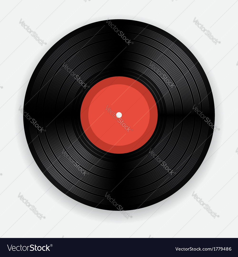 Vinyl record vector | Price: 3 Credit (USD $3)