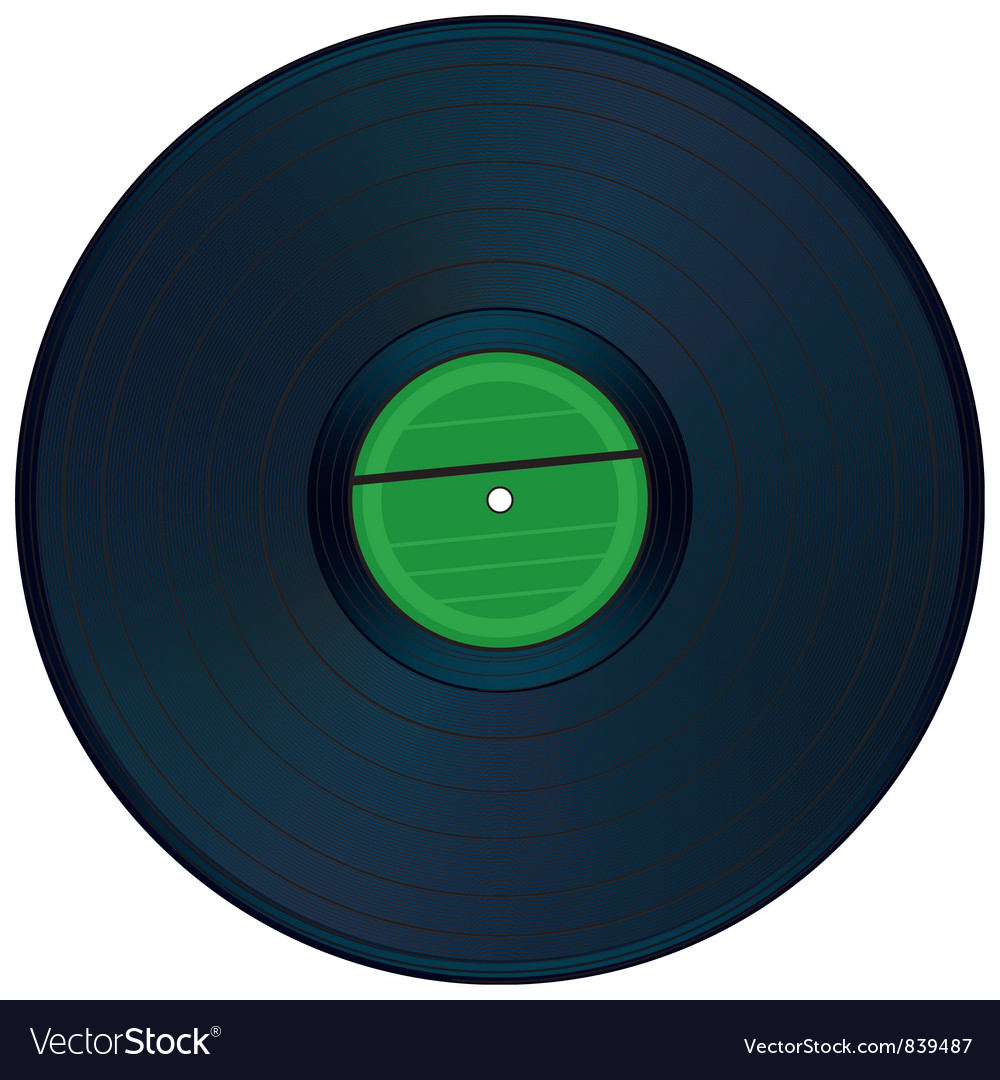 Gramophone disc vector | Price: 1 Credit (USD $1)