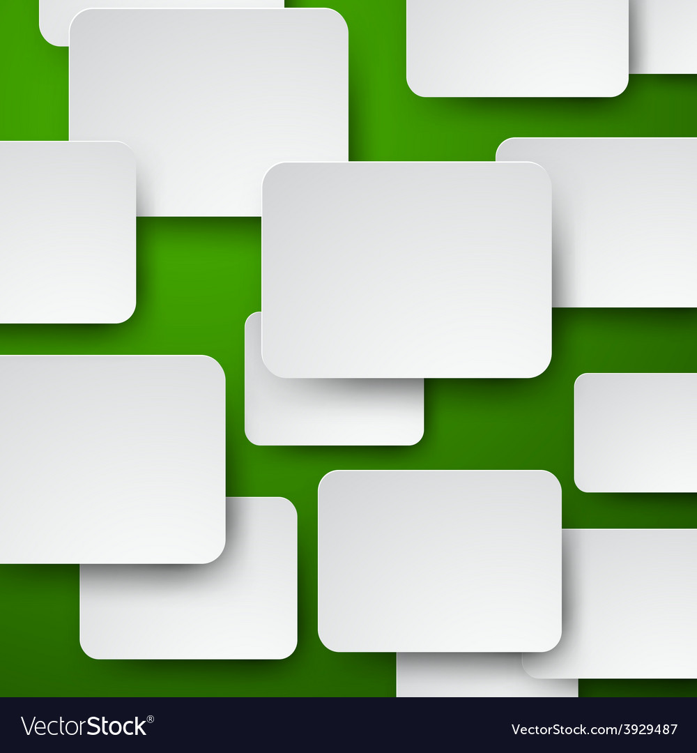 Paper white notes on green vector | Price: 1 Credit (USD $1)