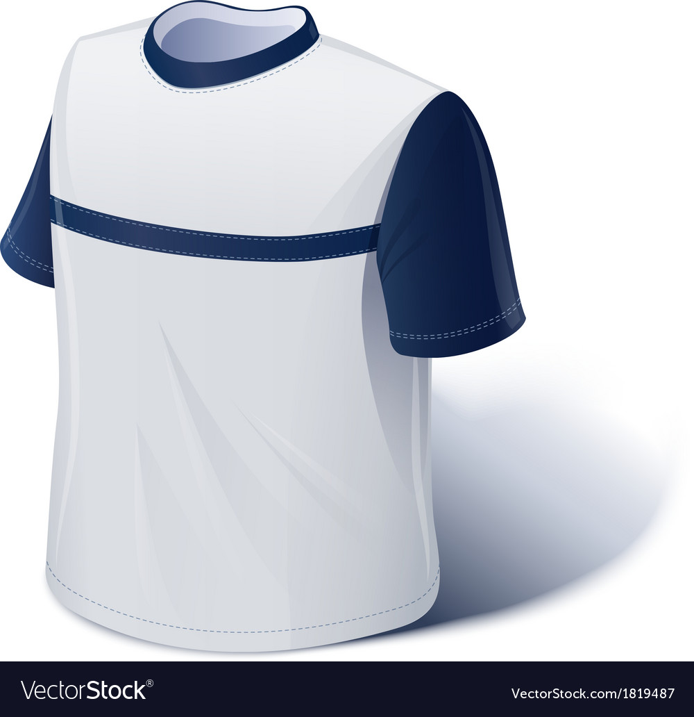 T-shirt sports wear vector   Price: 3 Credit (USD $3)