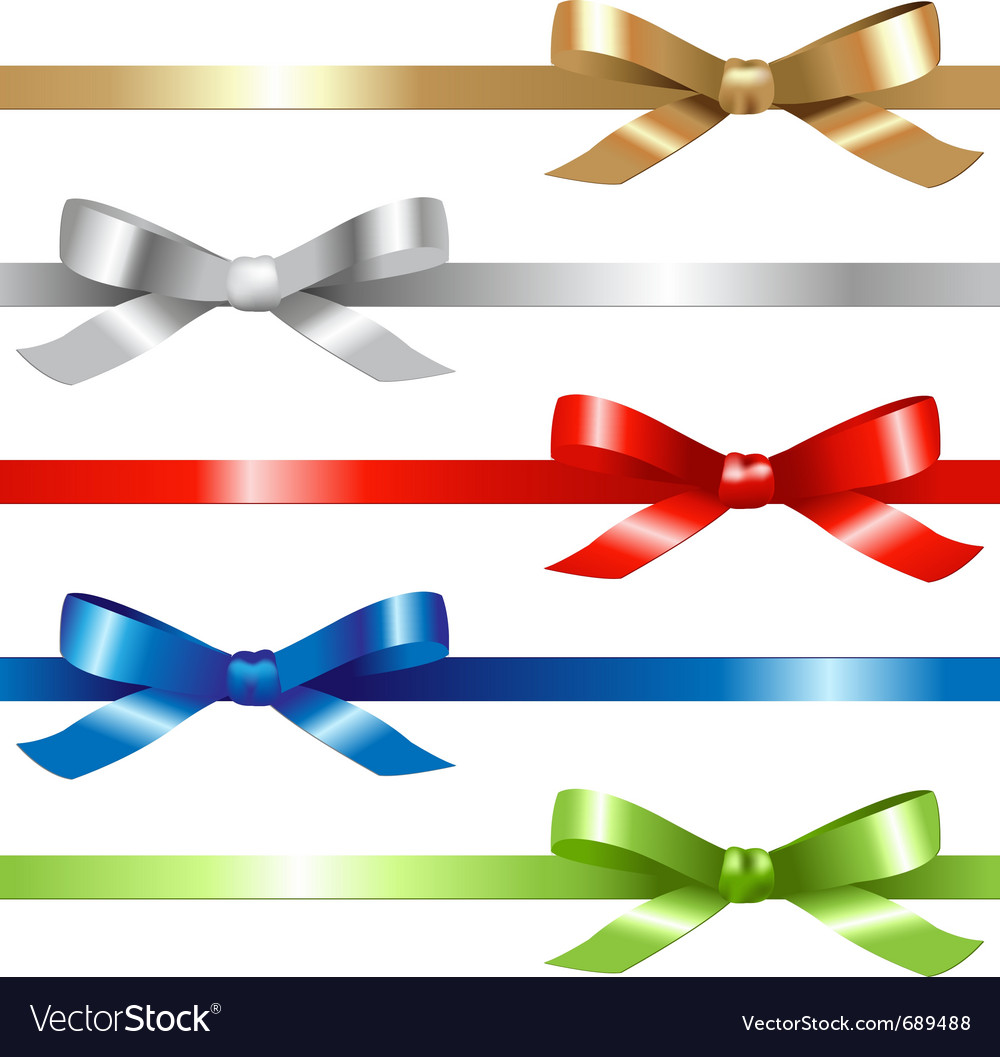 5 ribbons vector | Price: 1 Credit (USD $1)