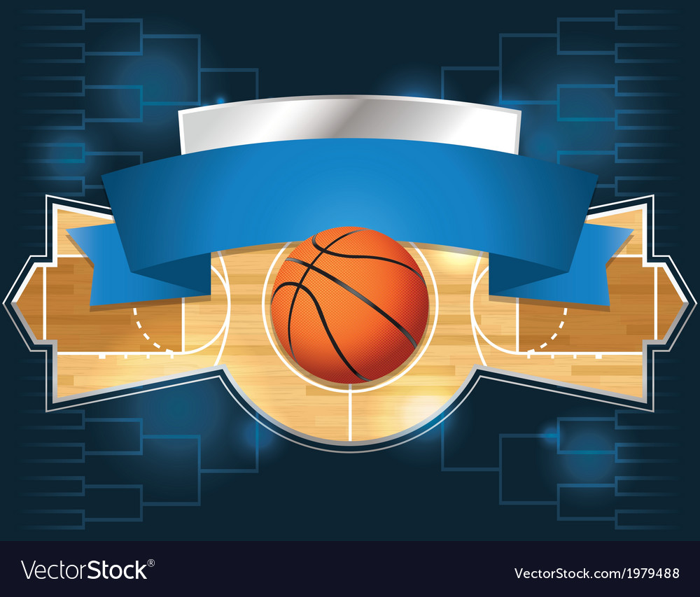 Basketball tournament vector | Price: 1 Credit (USD $1)