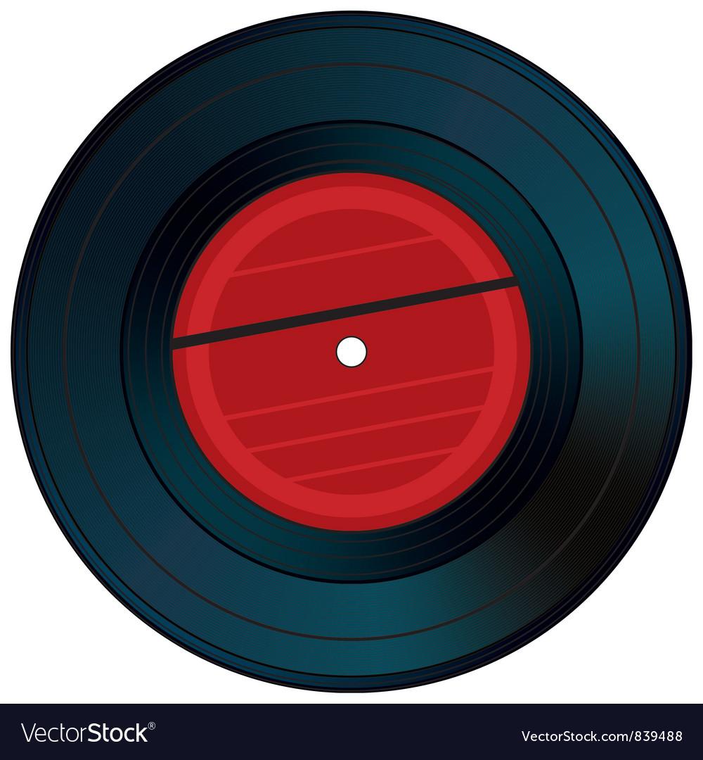 Gramophone disk vector | Price: 1 Credit (USD $1)